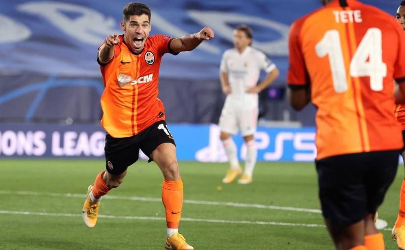 Derrota del Real Madrid contra el Shakhtar con dos goles atres