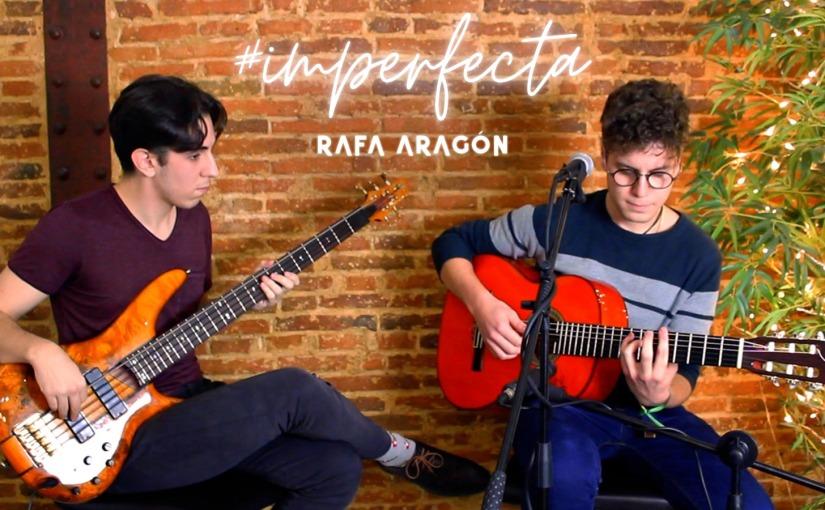 """Rafa Aragón: """"Me hace muy feliz hacer música y es lo que quiero hacer el resto de mivida"""""""