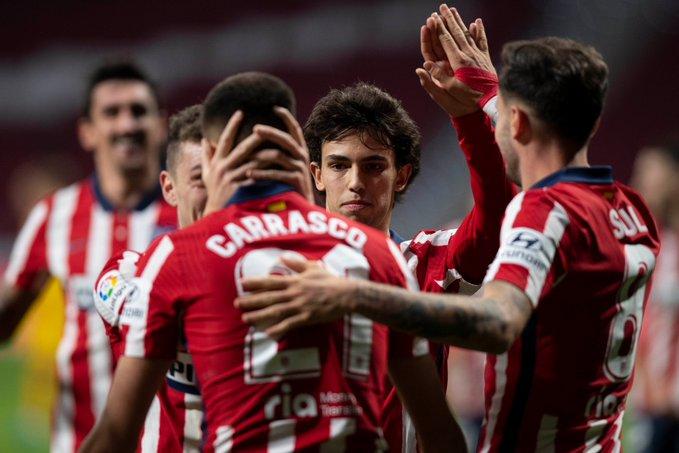 El Atlético de Madrid da un golpe sobre lamesa