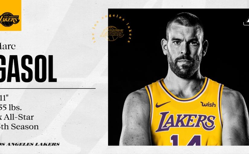 Marc Gasol ficha por los Lakers durante dosaños