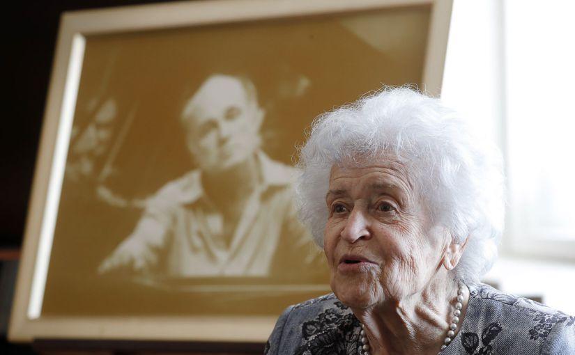Irina Antonova, la dama de los museos rusos muere a los 98años