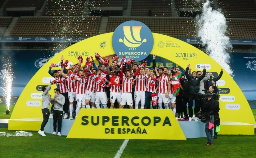 El Athletic Club se hace el campeón de la Supercopa de España en LaCartuja