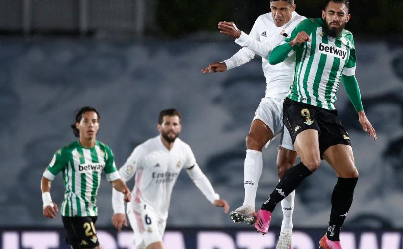 El Betis impide la victoria al RealMadrid