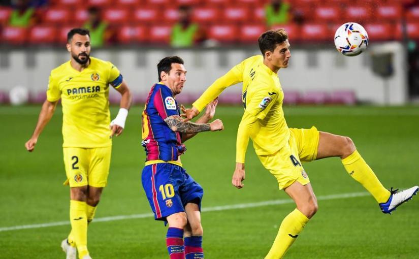 El Barça hace su trabajo ante elVillarreal