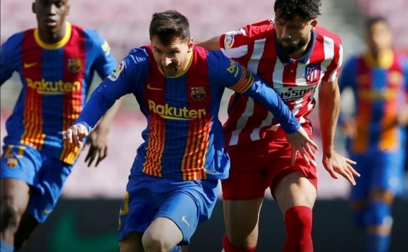 Empate entre Barça y Atlético que da esperanzas al RealMadrid