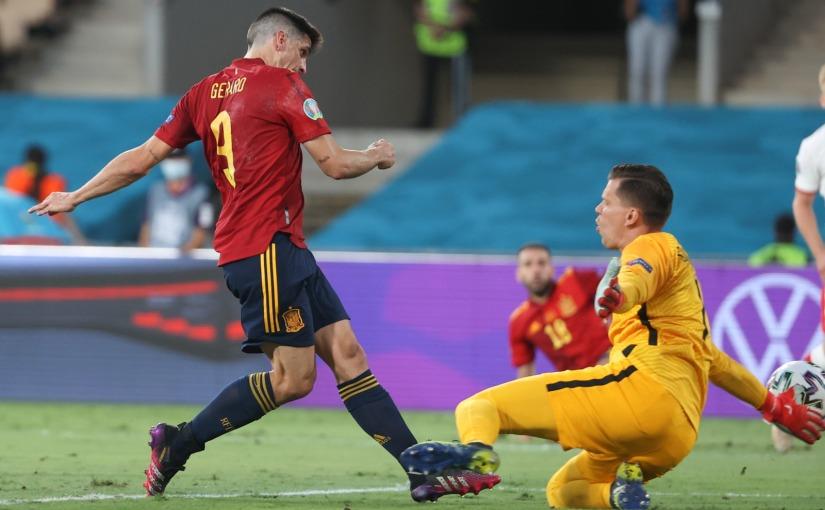 España encuentra el gol, pero no lavictoria